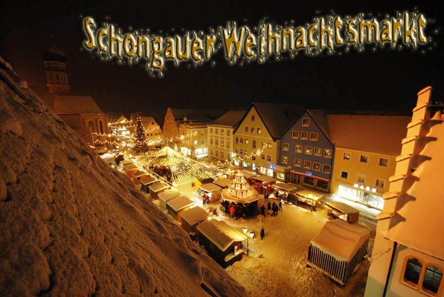 Schongau Weihnachtsmarkt.Fotoclub Schongau E V Schongauer Weihnachtsmarkt